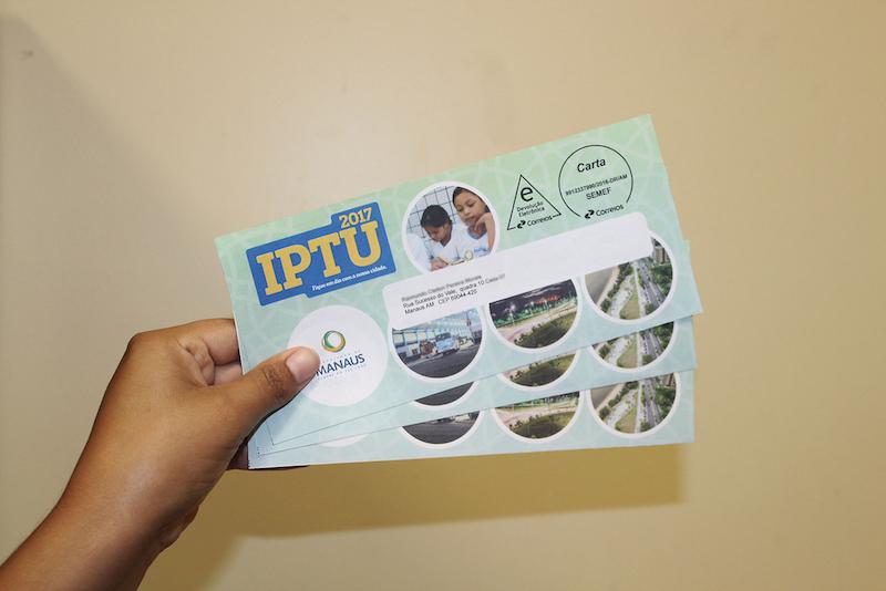 Prazo para pagamento da cota única do IPTU 2017 encerra esta semana