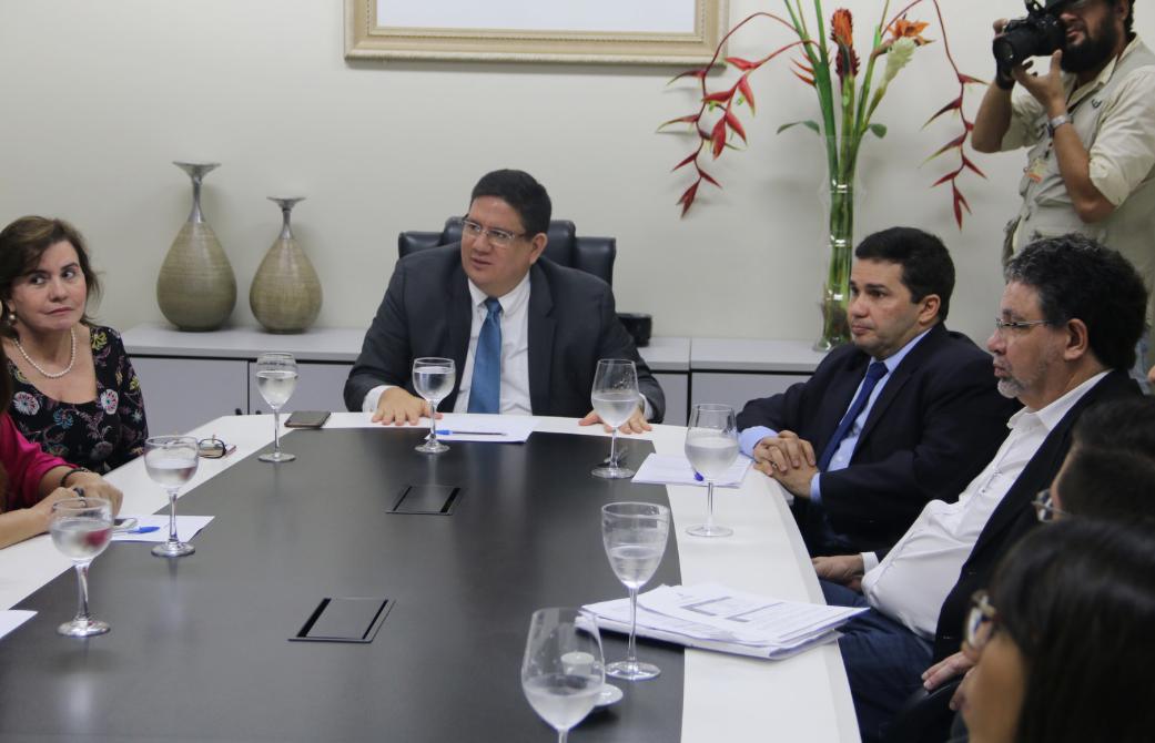 Em reunião no TCE, SSP confirma convocação de 320 concursados da Susam a partir de maio