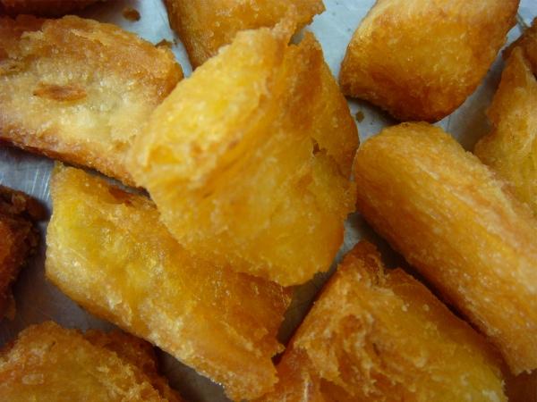 Receita de macaxeira frita para o almoço ou merenda!