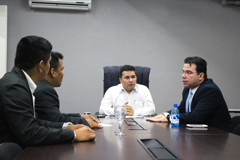 Wilker Barreto reúne com Sérgio Fontes e Ordem dos Músicos tem diretos assegurados