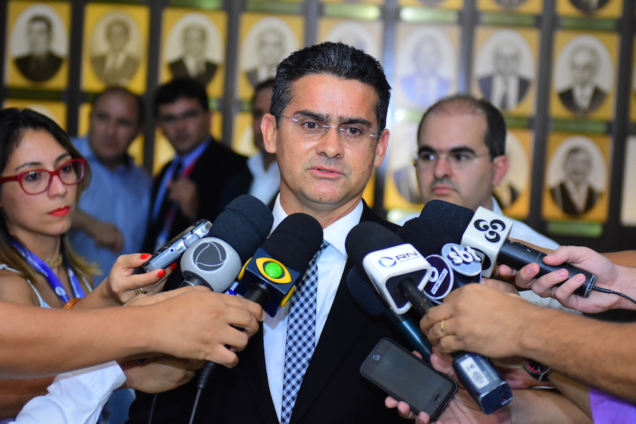 David Almeida, Governado do Amazonas anuncia Plano Emergencial na Saúde