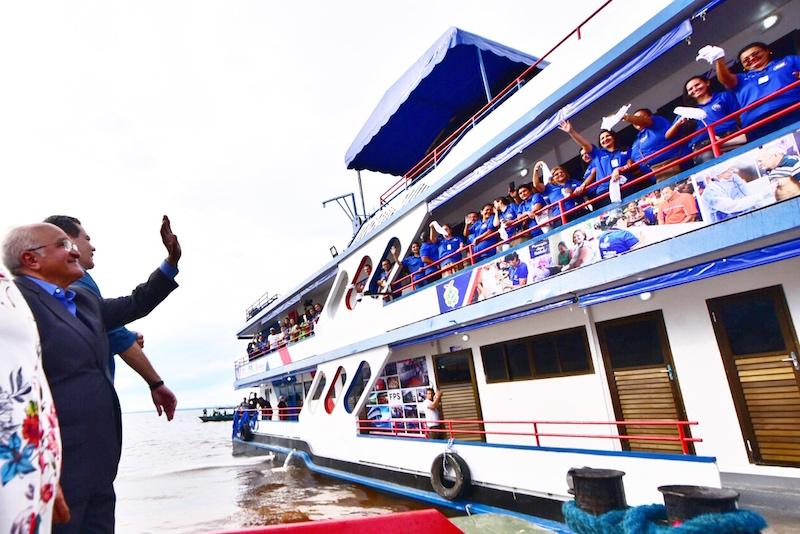 Mais de 22 mil pessoas serão beneficiadas na calha do Purus com o segundo Barco Pai