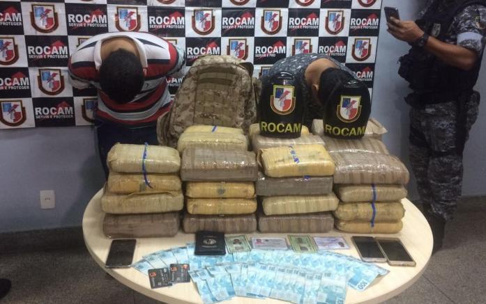 Ex-marido de Fabíola Gadelha é preso com 50 kilos de Drogas em Manaus