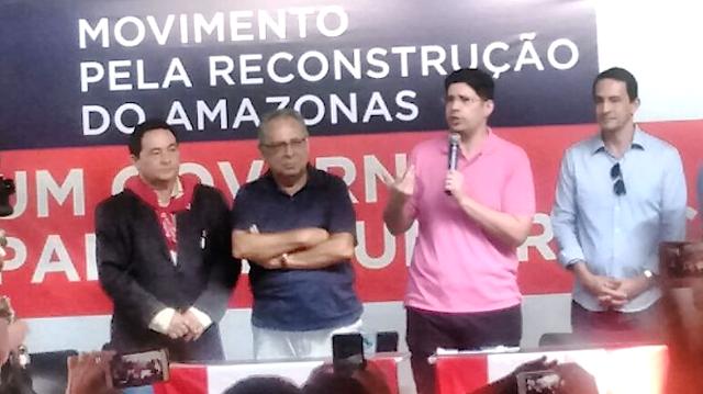 """""""Eu não vou disputar maratona, eu vou governar. O povo vai ganhar essa eleição"""" diz Amazonino"""