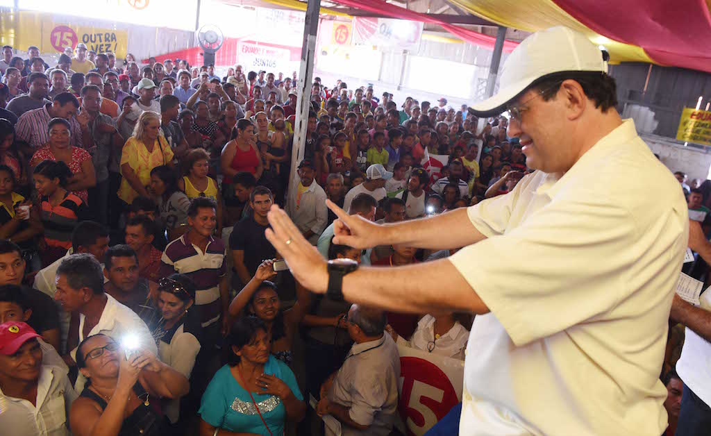Eduardo Braga visita Manaquiri