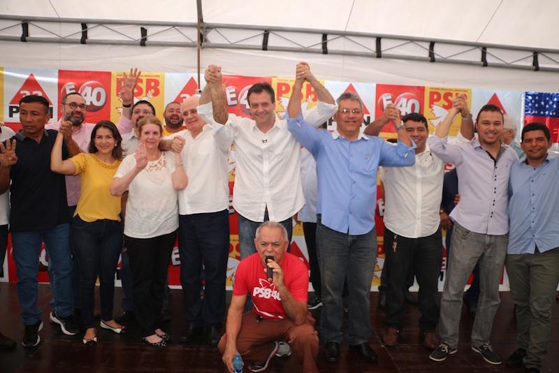 Marcelo Serafim e Sirlan Cohen estão juntos na disputa pelo governo do AM