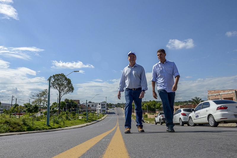 Marcos Rotta diz Sim, ao convite de Artur Neto e apoia Amazonino Mendes