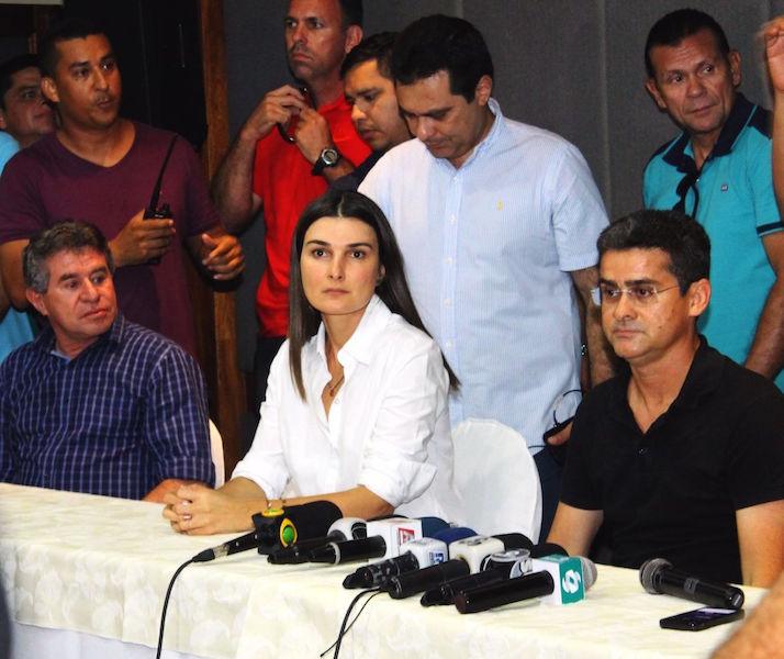 Rebecca confirma candidatura e  Abdala Fraxe (PTN) é seu vice