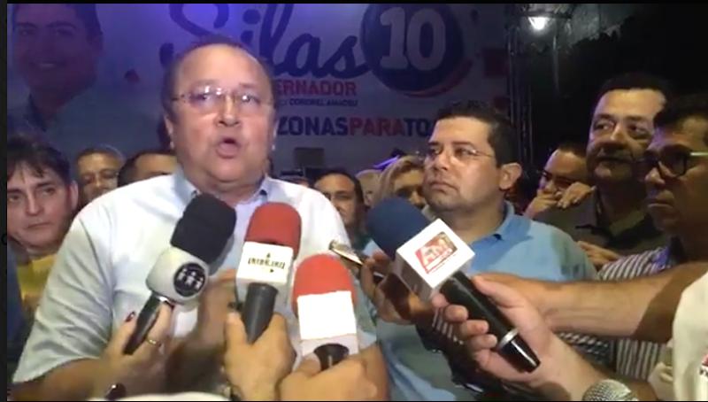 Silas Câmara desiste de sua candidatura ao governo do Estado do AM