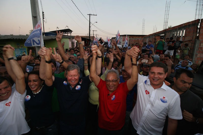 Amazonino arrasta multidão na comunidade Raio do Sol