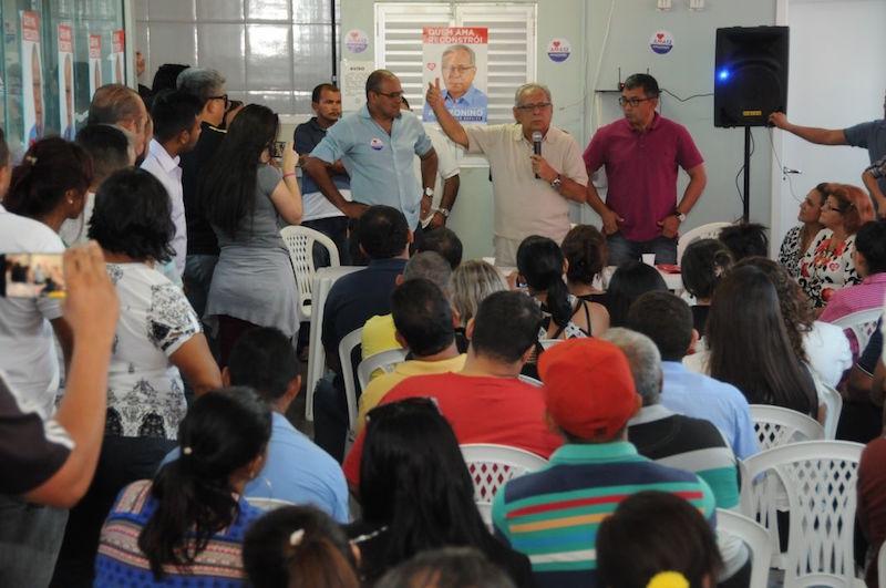 Amazonino recebe apoio de lideranças comunitárias