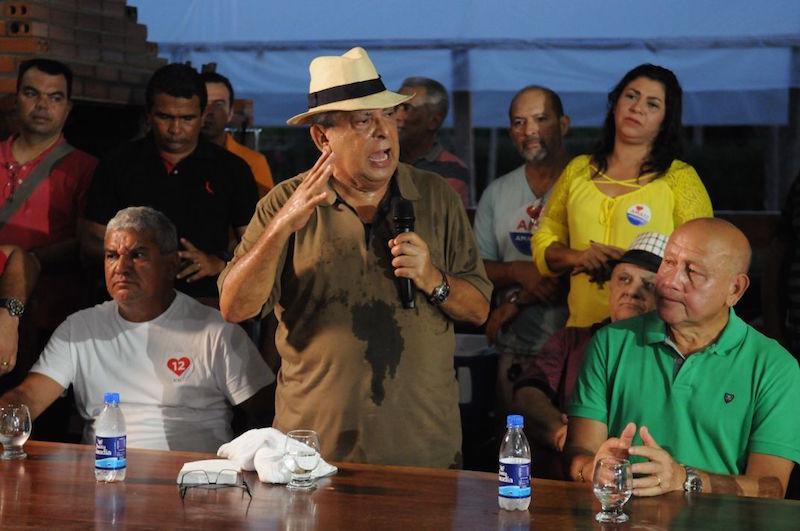 Em Iranduba, Amazonino recebe apoio das  principais lideranças políticas da cidade