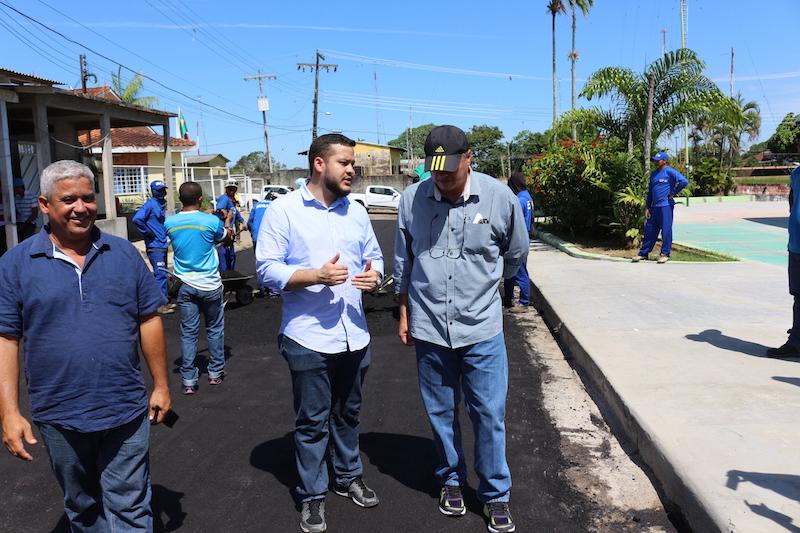 Prefeitura de Coari investe R$ 4,5 milhões em revitalização do município