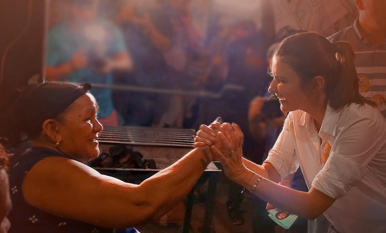 Vereador Felipe Souza, segue como vice de Rebecca Garcia, substituindo Abdala Praxe