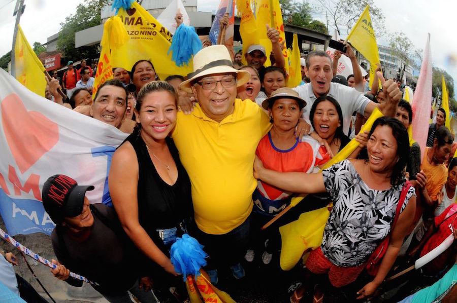 Amazonino volta a São Gabriel da Cachoeira para agradecer pela grande votação do 1º turno