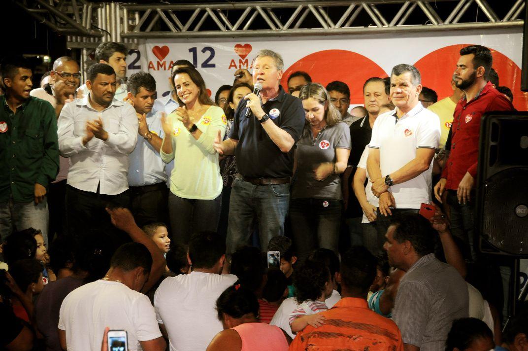 Amazonino, Bosco e Arthur intensificam luta pela reconstrução do Estado