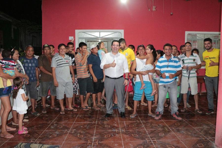 Wilker Barreto segue mandato junto às comunidades